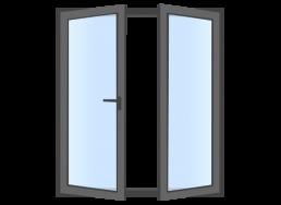 ventana abatible