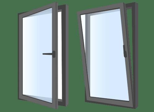 ventana oscilobatiente