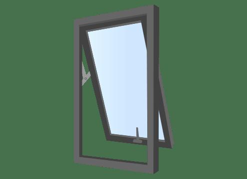 ventana proyectante