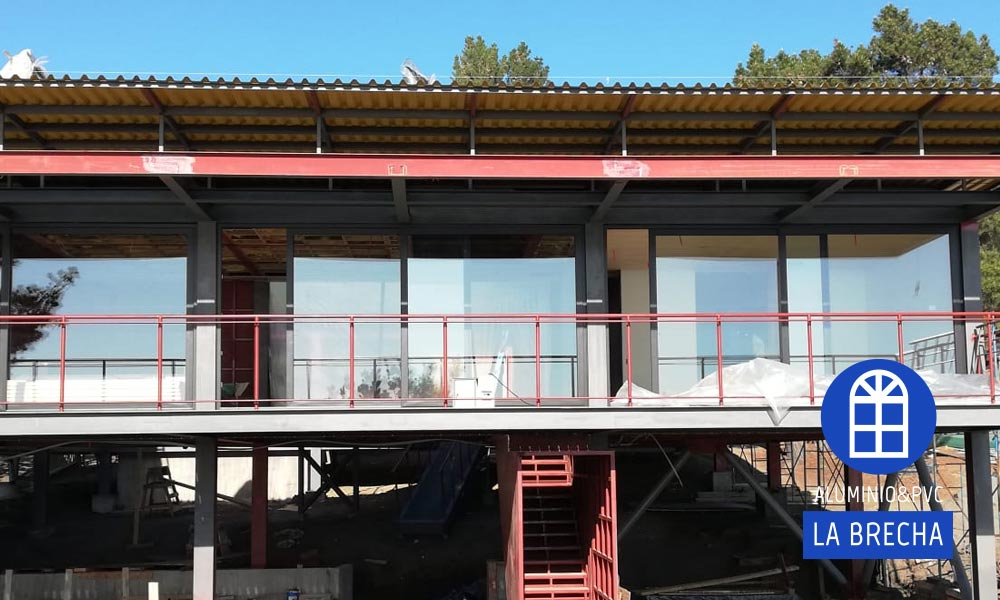 Instalacion ventanas grafito
