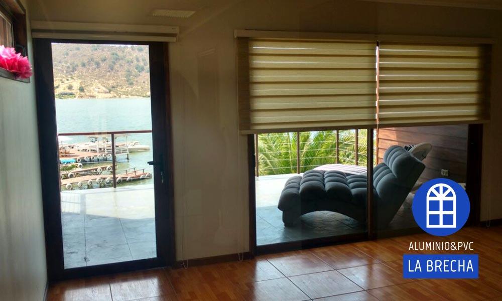 acceso terraza ventanas PVC
