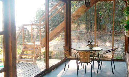 interior muro ventanas PVC