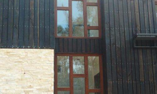 Muro ventanas cafe