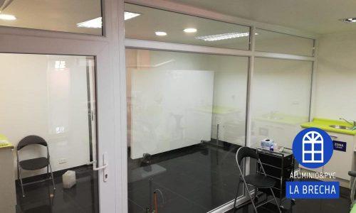 PVC blanco cristal termopanel
